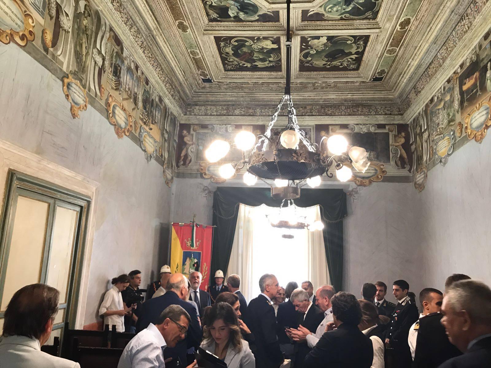 Alfredo Morvillo e Girolamo Di Fazio cittadini onorari a Termini Imerese