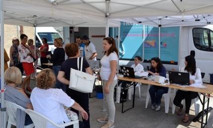 Visite ed esami gratuiti con Asp in Piazza