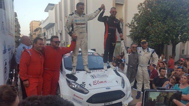 Giuseppe Nucita vince per la terza volta consecutiva il Rally Event