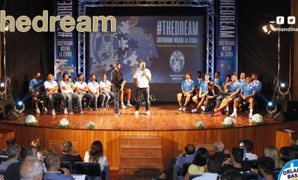 L'Orlandina Basket presenta la sua squadra