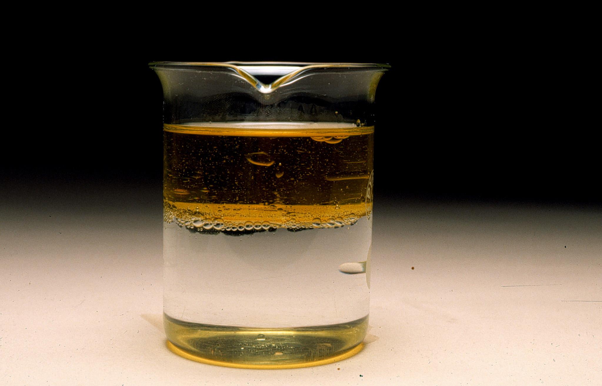Curiosità: per la prima volta mescolati acqua e olio
