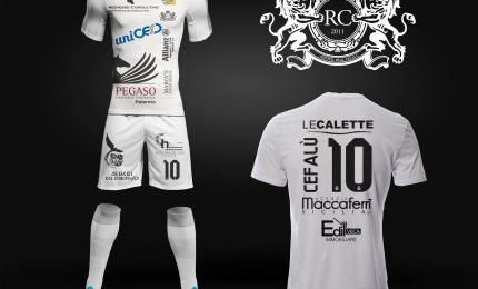 Real Cefalù: la nuova maglia