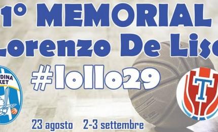 "Cefalù: al PalaIgnazio il ""Memorial Lorenzo De Lise"""