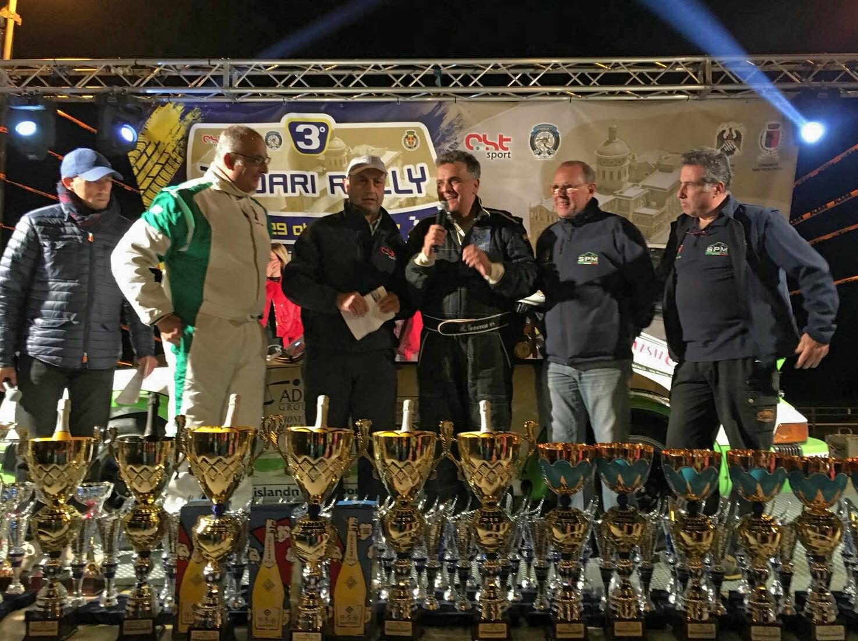Il Reparto Corse Real Cefalù trionfa anche nel Rally