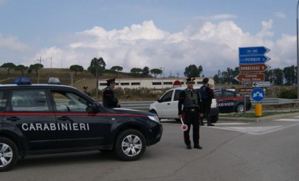 Controlli dei Carabinieri nelle Alte Madonie