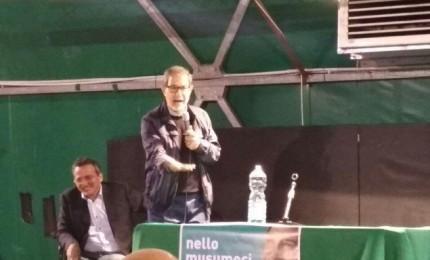 """Musumeci a Castellana Sicula: """"Voglio sistemare questa terra"""""""