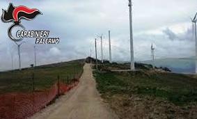 Castellana: irregolarità nei cantieri del Parco Eolico delle Madonie