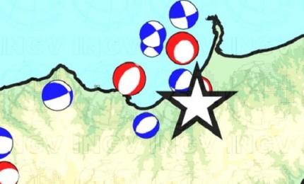 Continua lo sciame sismico in Sicilia, tremano le Eolie