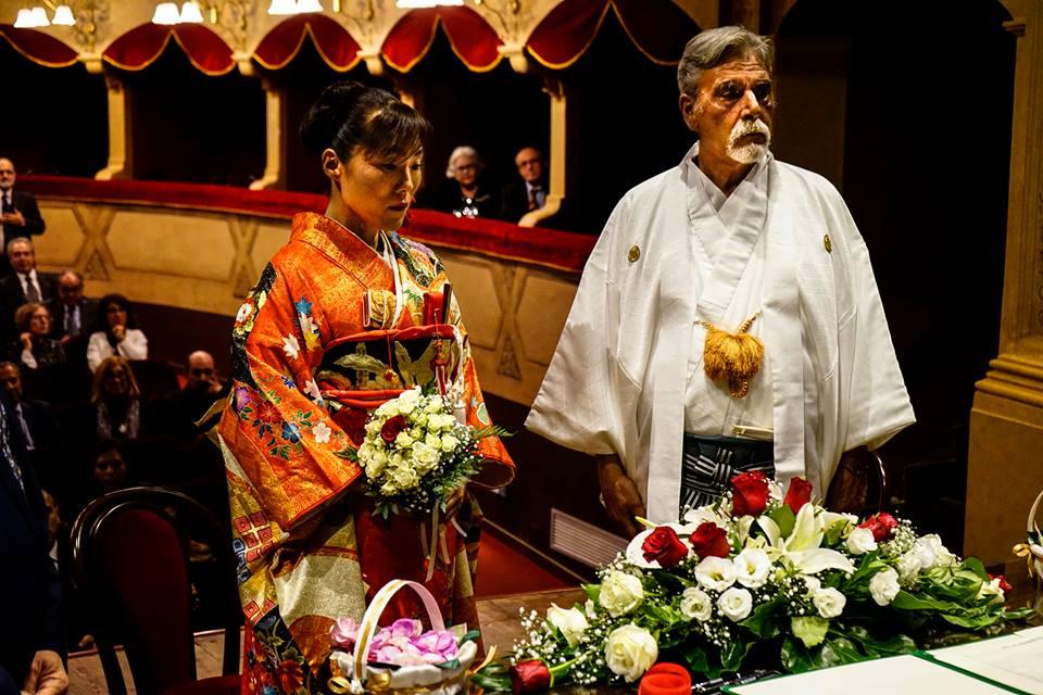 Un perfetto matrimonio nipponico a Cefalù