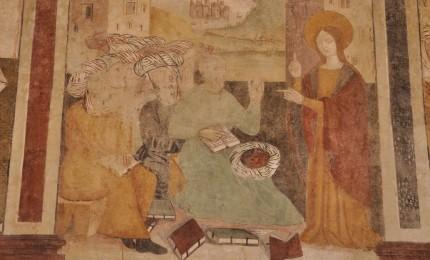 Termini: il ciclo pittorico nella chiesa di S. Caterina di Alessandria