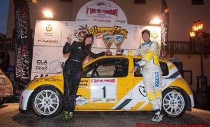 Marco Runfola e Corinne Federighi si concedono il bis al Rally day Pomarance