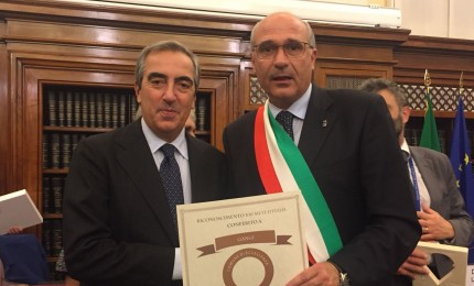 Prestigio Gangi, inserita fra le 100 mete d'Italia