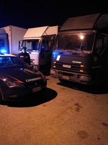 Due arresti per furto di gasolio