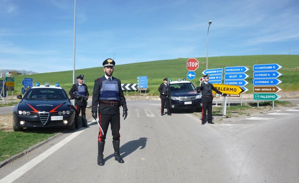 Madonie, controllo del territorio: droga e armi nel bilancio dei Carabinieri