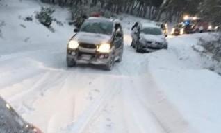 Le Madonie sotto la morsa di freddo e neve