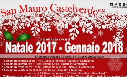Gli eventi di Natale a San Mauro Castelverde