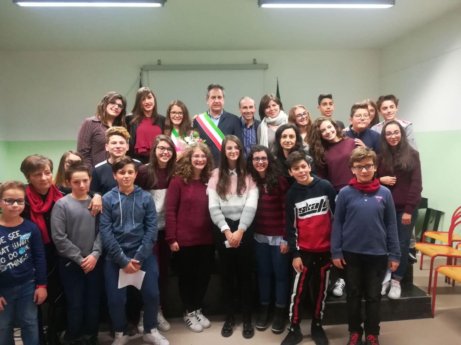 Eletto il sindaco dei ragazzi a Petralia Soprana