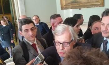Vittorio Sgarbi verso l'addio alla giunta Musumeci