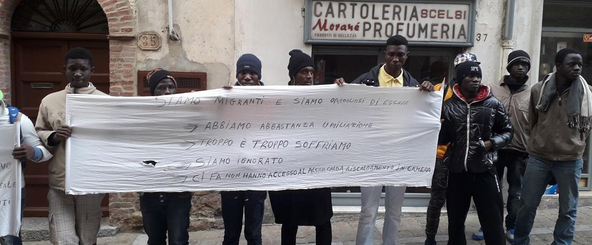 Isnello: protesta dei migranti, presentata un'interrogazione