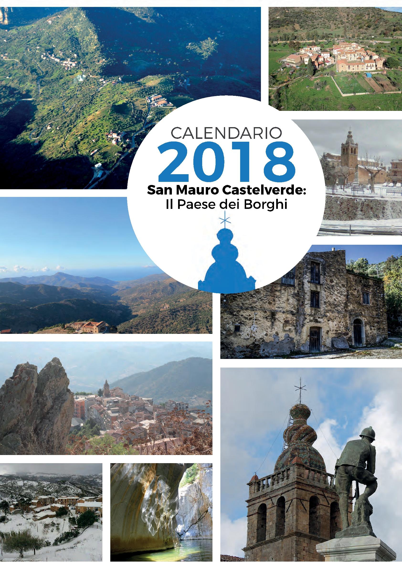 Il Calendario di San Mauro Castelverde, il Paese dei Borghi