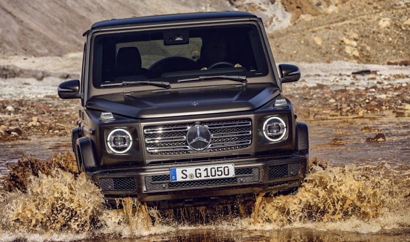 Presto il lancio della nuova Mercedes Classe G