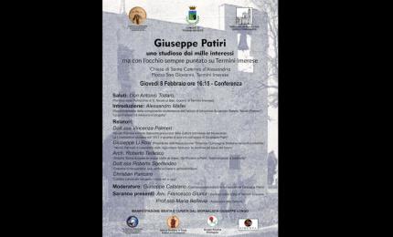 Giuseppe Patiri: uno studioso dai mille interessi ma con l'occhio sempre puntato su Termini Imerese
