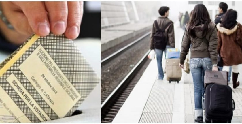 Riduzione biglietto Trenitalia per elettori