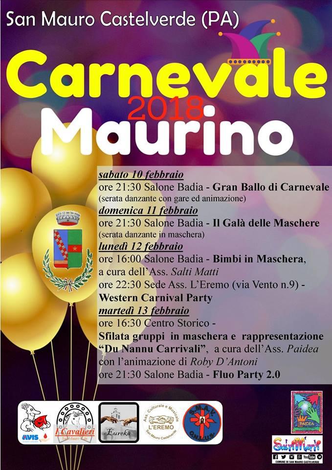 Carnevale, a San Mauro si balla con le associazioni locali