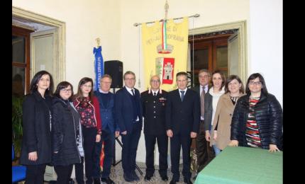 Petralia Soprana, saluto al luogotenente Gaetano Frugolino