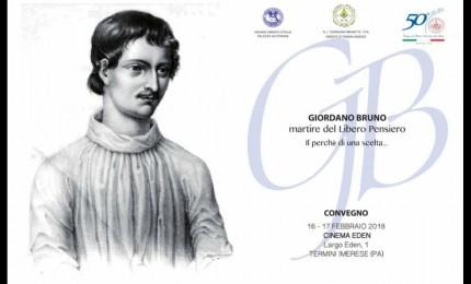 A Termini si ricorda Giordano Bruno
