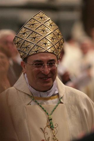 Cefalù, ingresso Vescovo Marciante: prima la tappa all'Ospedale Giglio
