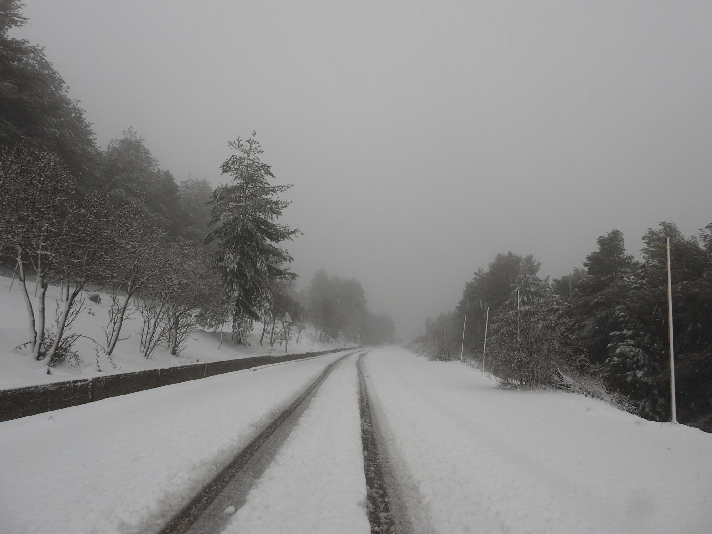 Madonie, finalmente la neve