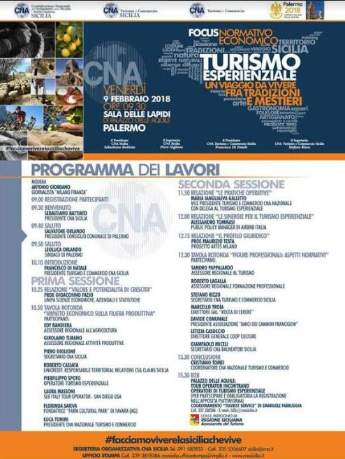 Petralia Soprana, sindaco al convegno sul turismo esperenziale
