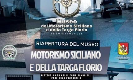 Termini: riapre il museo del Motorismo siciliano e della Targa Florio