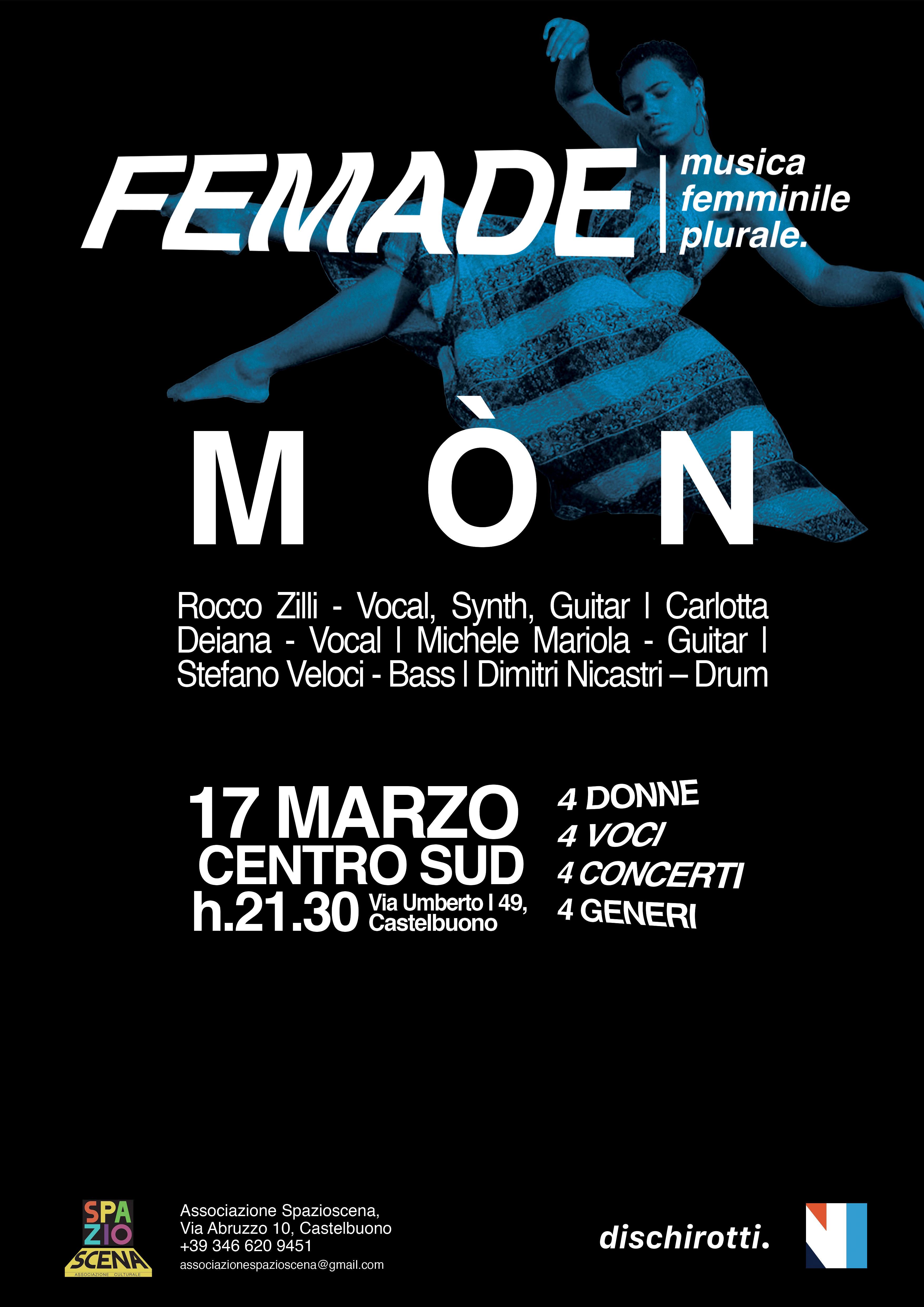 A Castelbuono entra in scena la musica al femminile