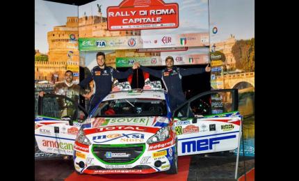 """Tommaso Ciuffi al via del """"Valtiberina"""" coi colori di ACI Team Italia"""