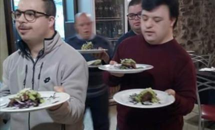 Chef speciali per piatti unici, a Cerda in cucina i ragazzi dell'Aidp