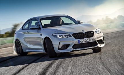 BMW M2 Competition, grinta da vendere