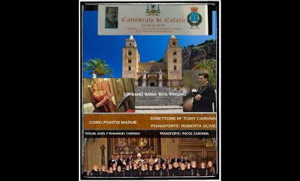 Cattedrale di Cefalù, concerto in onore di Mons. Vincenzo Manzella