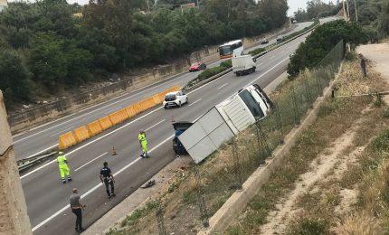 Grave incidente sulla A 19: mezzo pesante fuori strada nei pressi dello svincolo per Termini Imerese