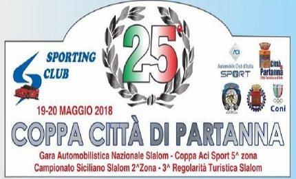 Il 20 maggio il 25^ Slalom Coppa Città di Partanna