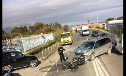 Campofelice: grave incidente sulla SS113, motociclista ricoverato in codice rosso