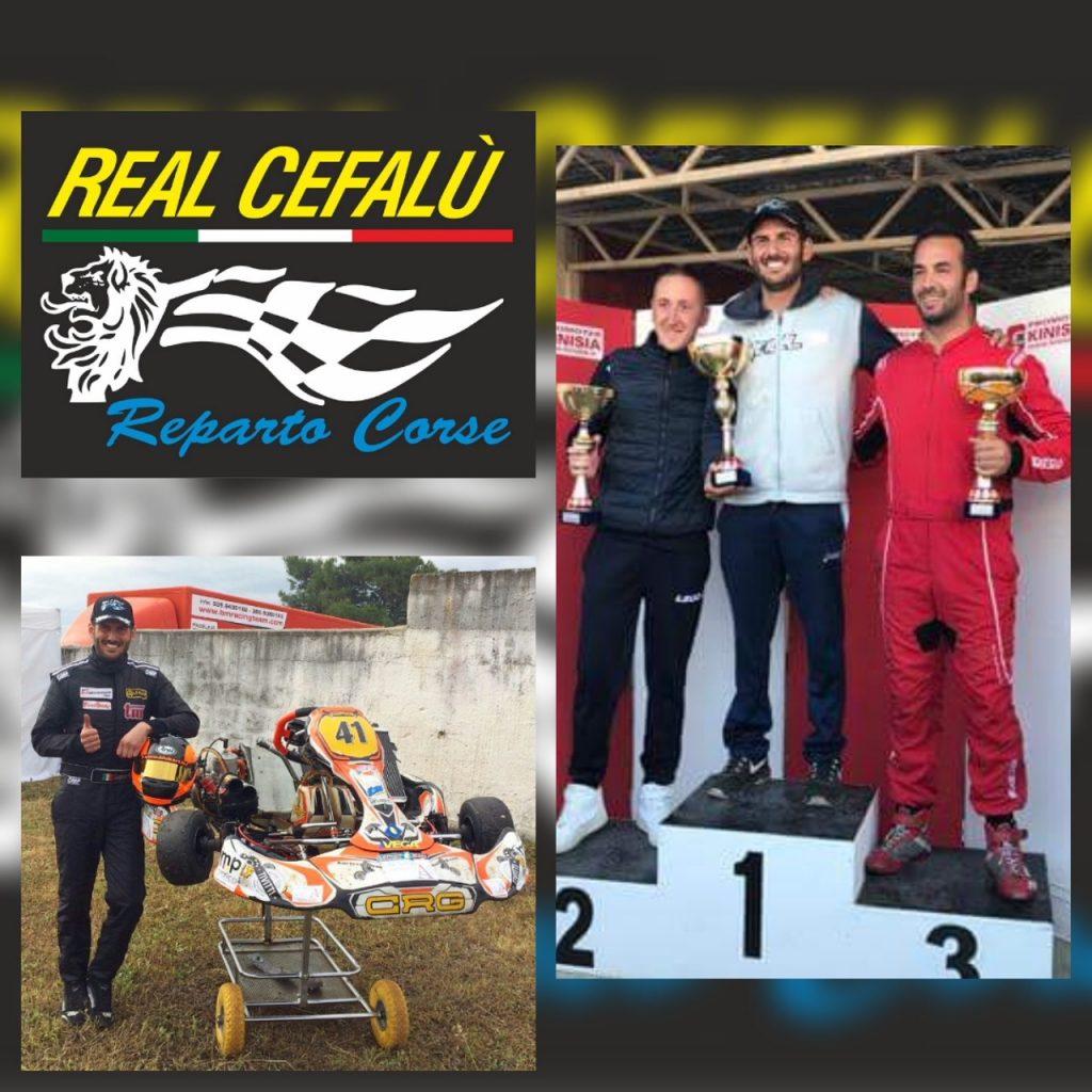 Vittoria di Gaspare Pollicino alla gara di campionato regionale Karting Sicilia