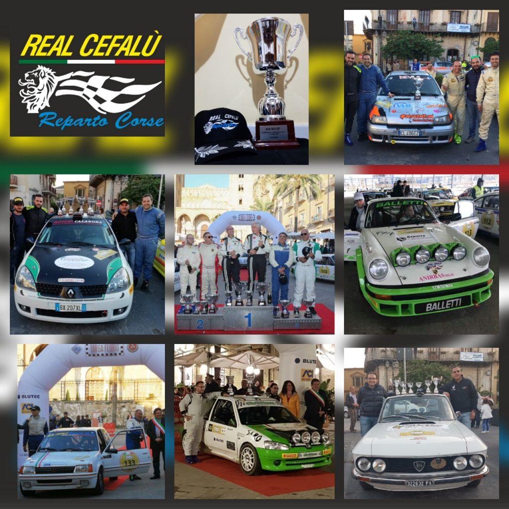 Storico successo della scuderia Real Cefalù reparto corse alla Targa Florio
