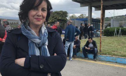 Vertenza Blutec: vertice a Roma e sit in operai, davanti la fabbrica anche gli esponenti termitani del M5S