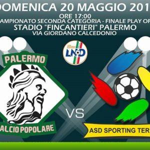 Finale Play off 2° categoria: Asd Sporting Termini vs Palermo Calcio Popolare VIDEO