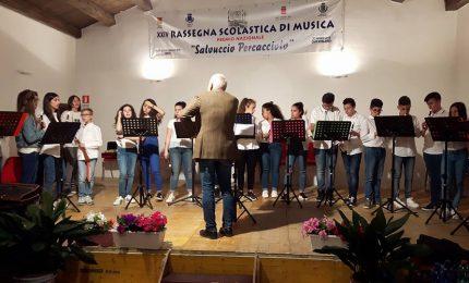 """Magistrale esecuzione ed ottimi risultati alla rassegna musicale """"S. Percacciolo"""" per gli alunni dell'istituto comprensivo Pollina-San Mauro"""