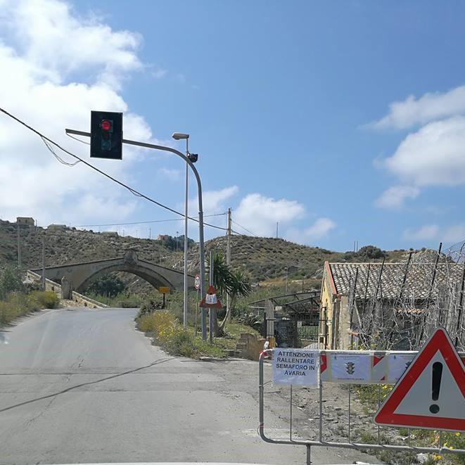 Disagi per gli automobilisti sul ponte San Leonardo tra Termini Imerese e Trabia