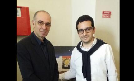"""Cefalù, un convegno su """"Nuovo cinema paradiso"""": Licciardi dona un'opera a Tornatore"""