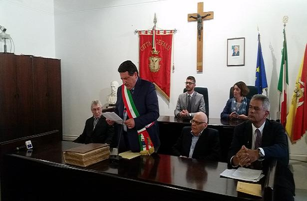 Vic Elford cittadino onorario di Cefalù